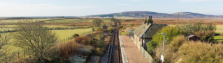 Scotscalder Railway Station - Photo by Angus Mackay