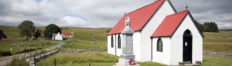 Syre Church, Strathnaver - Photo by Angus Mackay